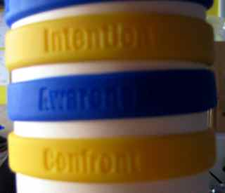 Responsibility Redefined wristbands